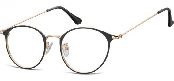 SFE-10528 glasses in Pink Gold/Black