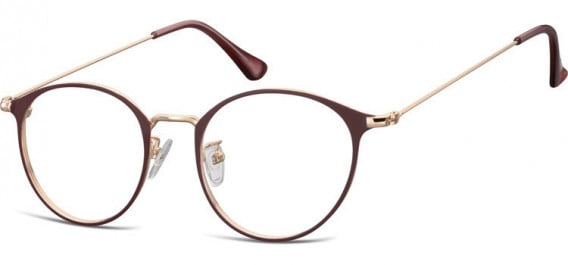 SFE-10528 glasses in Pink Gold/Red