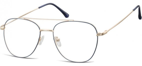 SFE-10527 glasses in Pink Gold/Blue