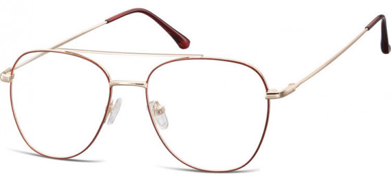SFE-10527 glasses in Pink Gold/Red