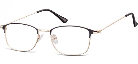 SFE-10526 glasses in Pink Gold/Black