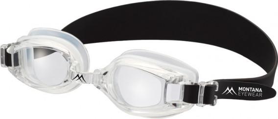 SFE-10638 swimming goggles in Transparent/Black