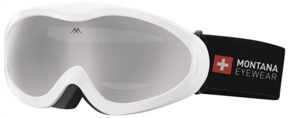 SFE-10637 ski goggles in Shiny White