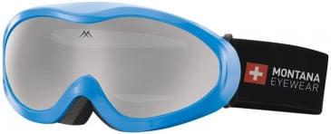 SFE-10637 ski goggles in Shiny Blue