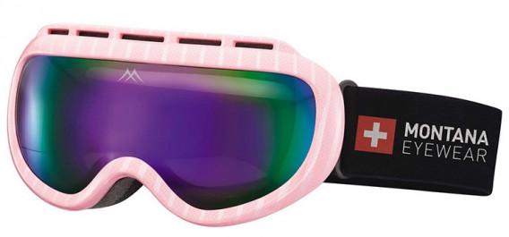SFE-10636 ski goggles in Shiny Pink