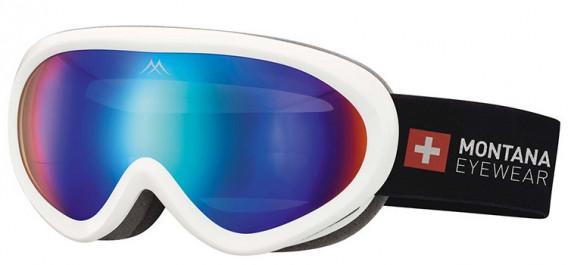 SFE-10635 ski goggles in Shiny White