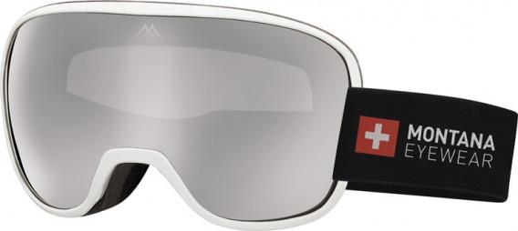 SFE-10634 ski goggles in Shiny White