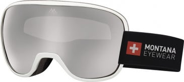 SFE-10634 ski goggles in Shiny White
