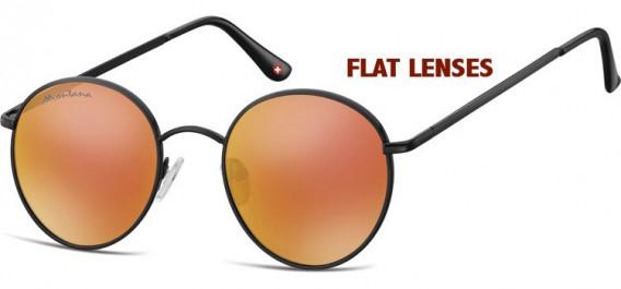 SFE-10631 sunglasses in Black/Red