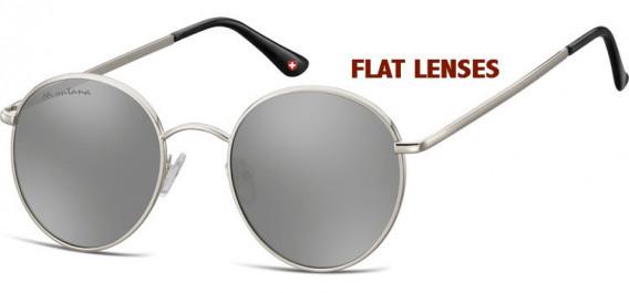 SFE-10631 sunglasses in Silver/Silver Mirror