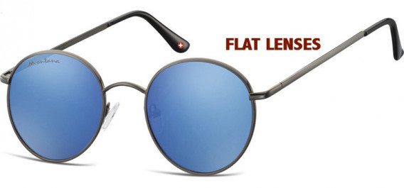 SFE-10631 sunglasses in Gunmetal/Blue
