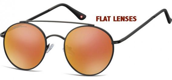 SFE-10630 sunglasses in Black/Red