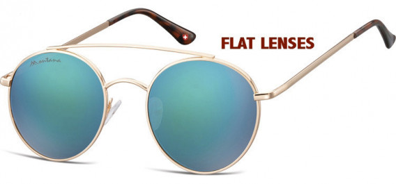 SFE-10630 sunglasses in Pink Gold/Green