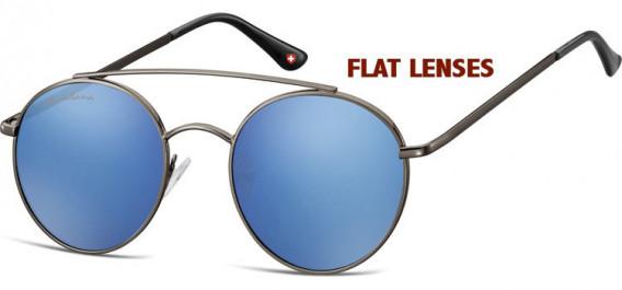 SFE-10630 sunglasses in Gunmetal/Blue