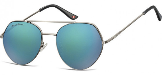 SFE-10629 sunglasses in Gunmetal/Green