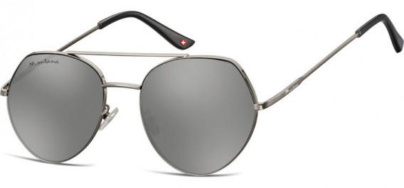 SFE-10629 sunglasses in Gunmetal/Silver Mirror