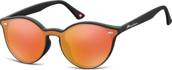 SFE-10627 sunglasses in Black/Red