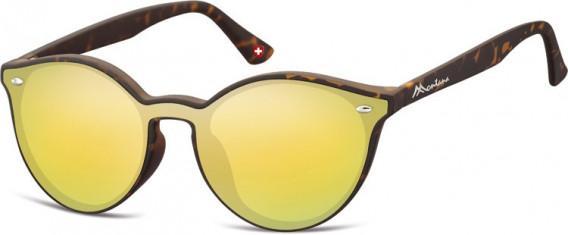 SFE-10627 sunglasses in Turtle/Yellow Gold