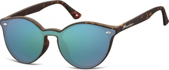 SFE-10627 sunglasses in Turtle/Green