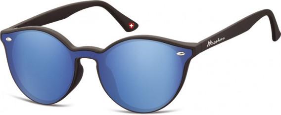 SFE-10627 sunglasses in Black/Blue