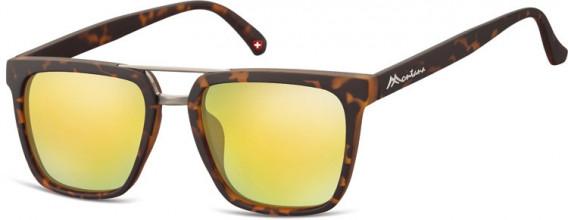SFE-10626 sunglasses in Turtle/Yellow Gold
