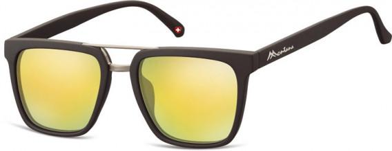 SFE-10626 sunglasses in Black/Yellow Gold