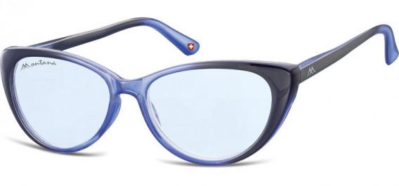 SFE-10624 sunglasses in Gradient Blue/Blue Lenses