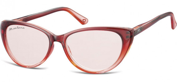 SFE-10624 sunglasses in Gradient Red/Red Lenses