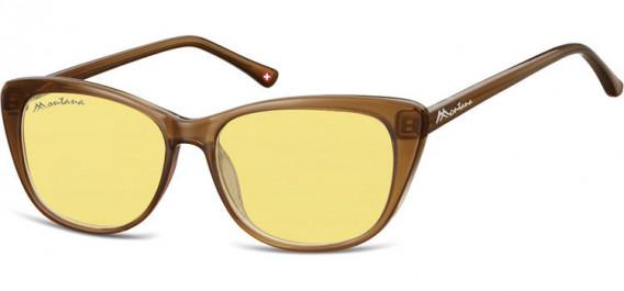 SFE-10623 sunglasses in Brown/Yellow Lenses