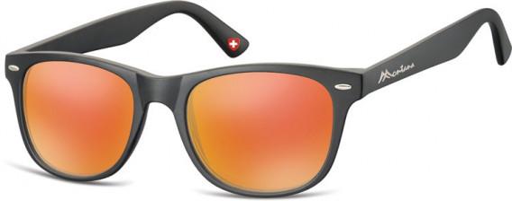 SFE-10622 sunglasses in Black/Red