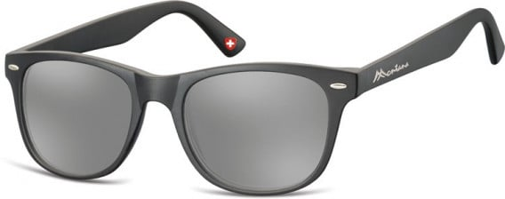 SFE-10622 sunglasses in Black/Silver Mirror