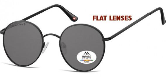 SFE-10621 sunglasses in Black/Smoke