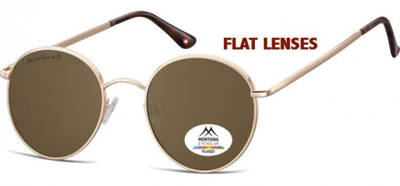 SFE-10621 sunglasses in Pink Gold/Brown