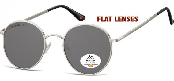 SFE-10621 sunglasses in Silver/Smoke