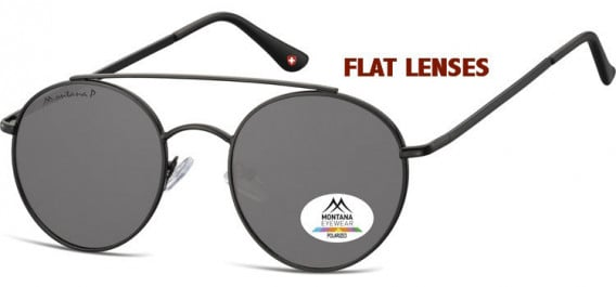 SFE-10620 sunglasses in Black/Smoke
