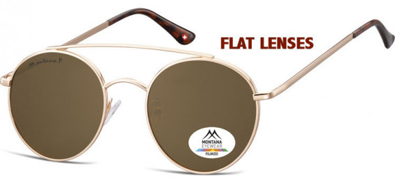 SFE-10620 sunglasses in Pink Gold/Brown