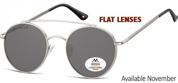SFE-10620 sunglasses in Silver/Smoke