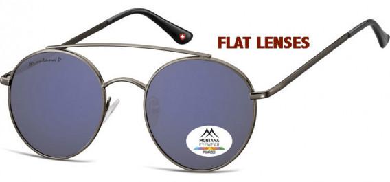 SFE-10620 sunglasses in Gunmetal/Grey Blue