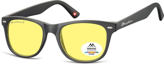 SFE-10614 sunglasses in Black/Yellow