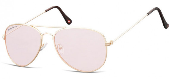 SFE-10613 sunglasses in Pink Gold/Light Pink