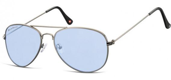 SFE-10613 sunglasses in Gunmetal/Light Blue