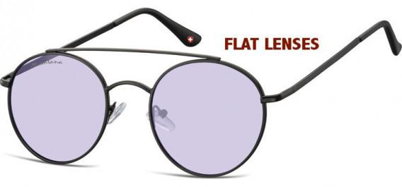 SFE-10611 sunglasses in Black/Purple