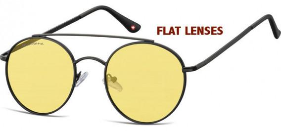 SFE-10611 sunglasses in Black/Yellow