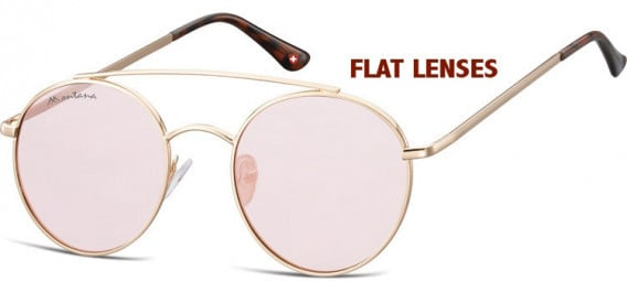 SFE-10611 sunglasses in Pink Gold/Pink Red