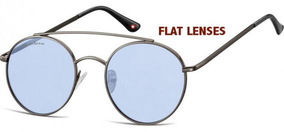 SFE-10611 sunglasses in Gunmetal/Blue
