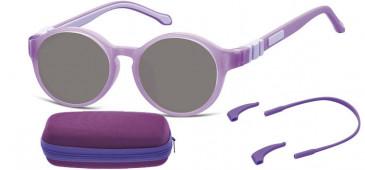 SFE-10610 kids sunglasses in Purple