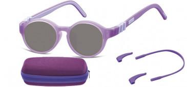 SFE-10609 kids sunglasses in Purple