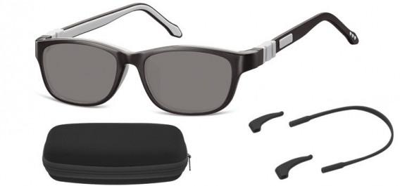 SFE-10608 kids sunglasses in Black