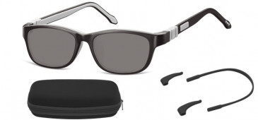 SFE-10608 kids sunglasses in Black