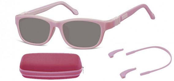 SFE-10608 kids sunglasses in Pink